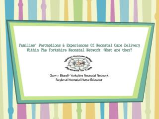 Families Perceptions  Experiences Of Neonatal Care Delivery Within The Yorkshire Neonatal Network  What are they