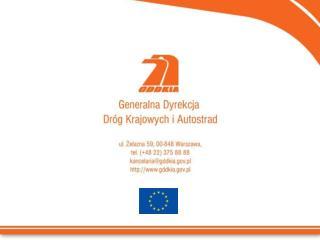 Projekty transportowe � Budowa autostrady  A-2, odcinek: Konin � Emilia, Emilia - Stryk�w