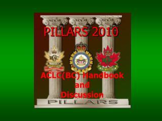 PILLARS 2010