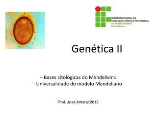 Gen�tica II