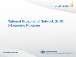 National Broadband Network (NBN) E-Learning Program