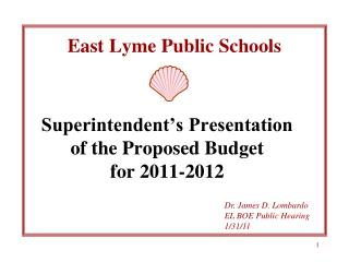 East Lyme Public Schools
