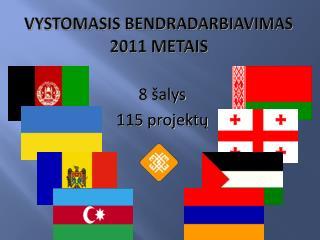 VYSTOMASIS BENDRADARBIAVIMAS  201 1 METAIS