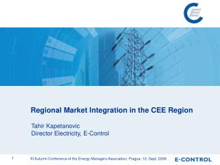 Regional Market Integration in the CEE Region