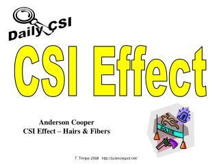 CSI Effect