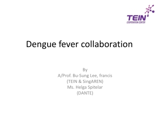 Dengue :  Clinical presentation and management