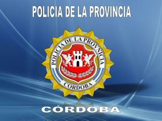 POLICIA DE LA PROVINCIA