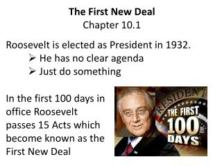 The First New Deal Chapter 10.1