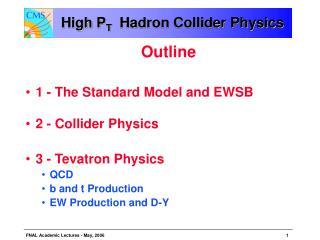 High P T   Hadron Collider Physics