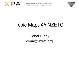 Topic Maps @ NZETC