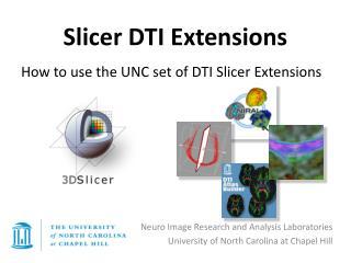 Slicer DTI Extensions