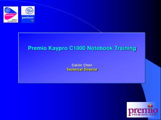 Premio Kaypro C1000 Notebook Training