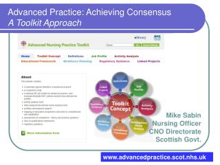 Advanced Practice: Achieving Consensus A Toolkit Approach