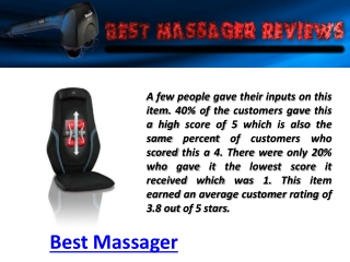 Best Massager