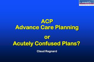 ACP Advance Care Planning
