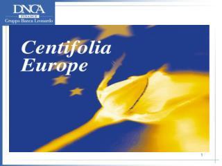 CENTIFOLIA EUROPE