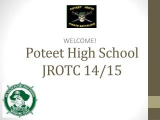 Poteet High School JROTC 14/15