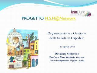 PROGETTO  H.S.H@Network
