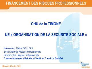 FINANCEMENT DES RISQUES PROFESSIONNELS