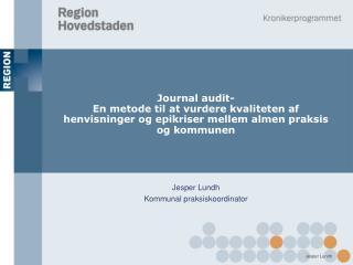 Jesper Lundh Kommunal praksiskoordinator