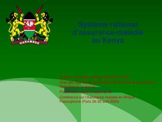 Système national d'assurance-maladie au Kenya