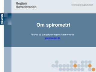 Om spirometri