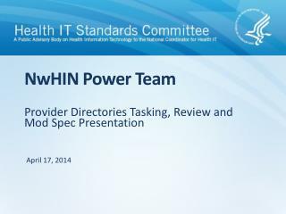 NwHIN  Power Team