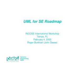 UML for SE Roadmap