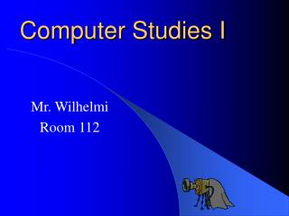 Computer Studies I