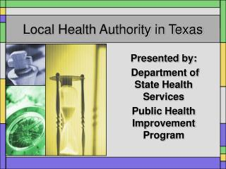 Local Health Authority in Texas