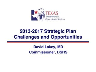 2013-2017 Strategic Plan Challenges and Opportunities
