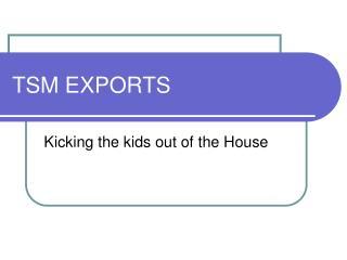 TSM EXPORTS