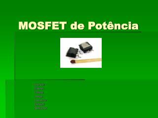 MOSFET de Potência