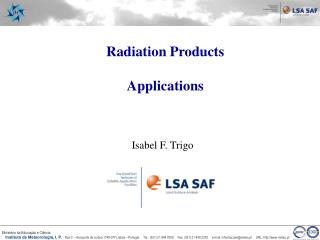 Radiation Products Applications