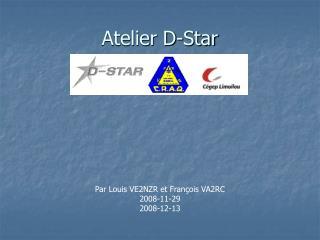 Atelier D-Star