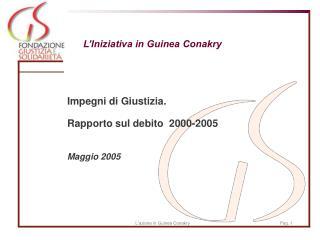 L'Iniziativa in Guinea Conakry