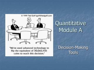 Quantitative Module A
