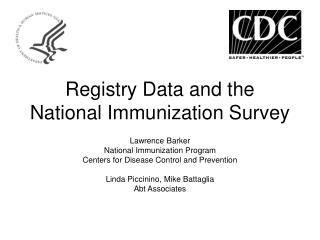 Registry Data and the National Immunization Survey