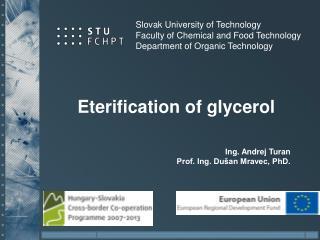 Eterification of glycerol