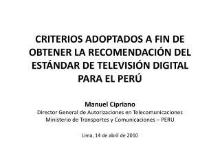 METODOLOGÍA DE LA COMISIÓN PARA ELABORACIÓN DEL INFORME DE RECOMENDACIÓN DEL ESTÁNDAR (1/2)