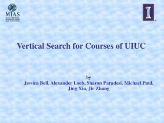 Vertical Search for Courses of UIUC