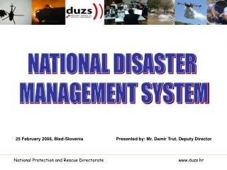 NATIONAL DISASTER  MANAGEMENT SYSTEM