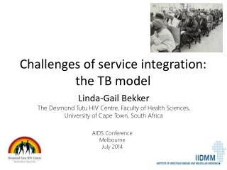 Challenges of service integration: the TB model