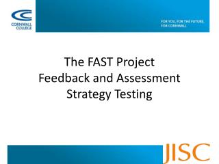 The FAST Project Feedback and Assessment Strategy Testing