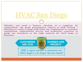 Hvac San Diego