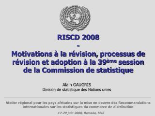 17-20 juin 2008, Bamako, Mali