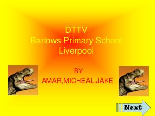 DTTV Barlows Primary School Liverpool