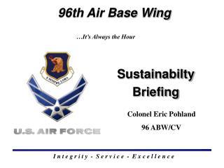 Sustainabilty Briefing
