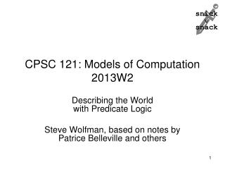 CPSC 121: Models of Computation 2013W2