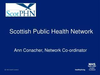 Scottish Public Health Network